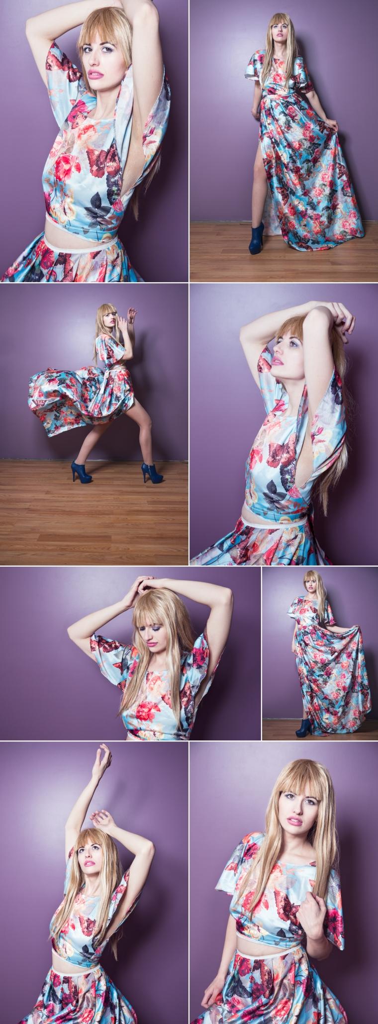 Pastel Fashion Shoot